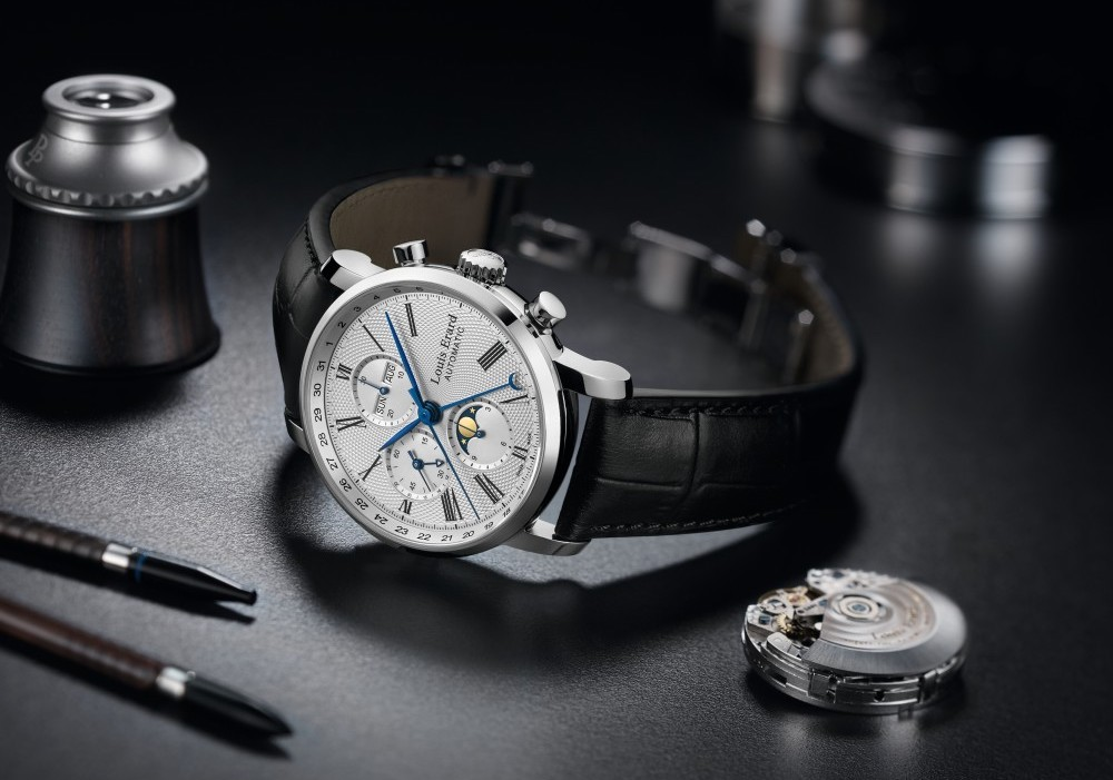 Moonphase watch under 5000 - LOUIS ERARD EXCELLENCE MOONPHASE CHRONOGRAPH