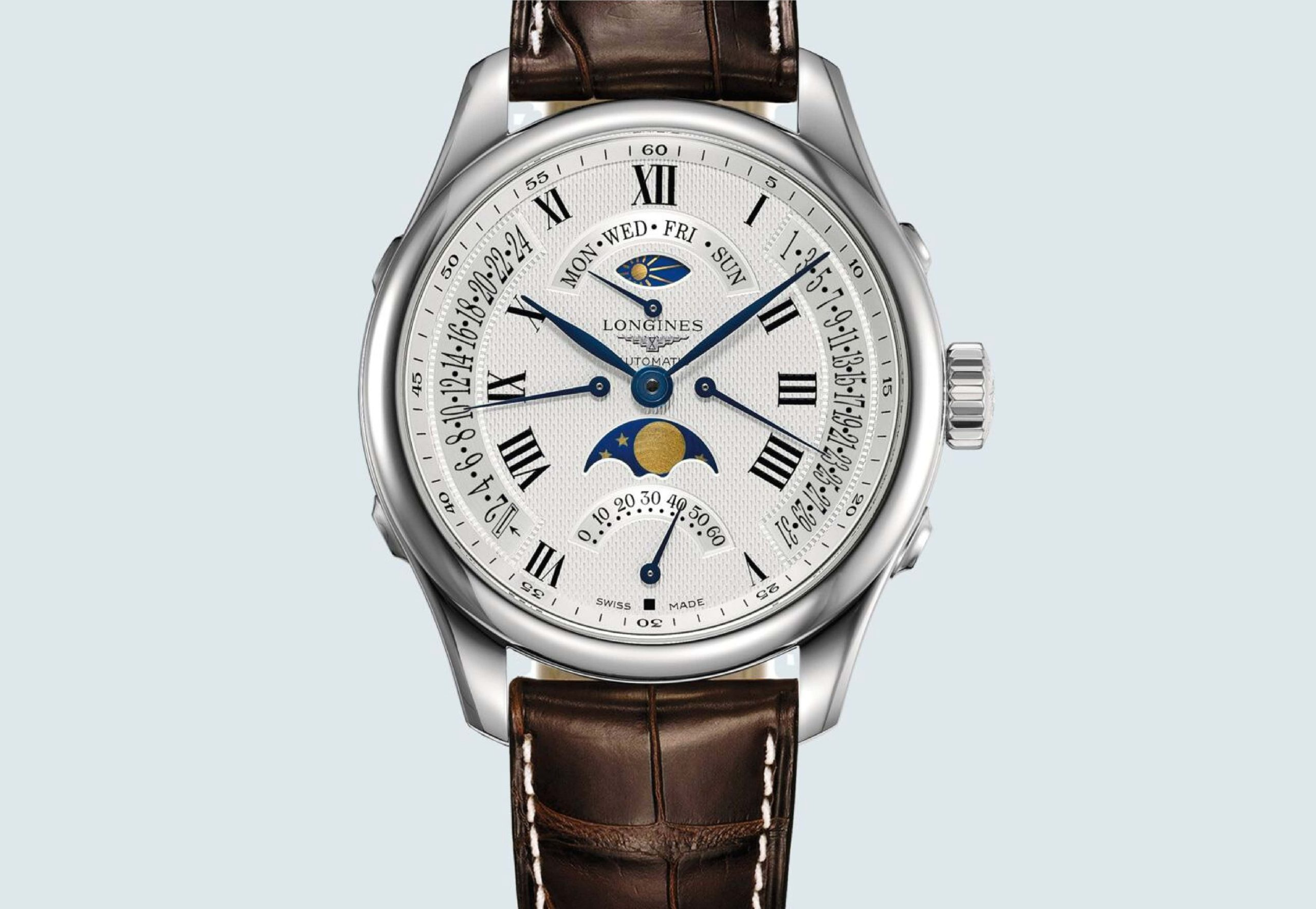 Best moonphase watch under 5000 - The Longines Master Collection