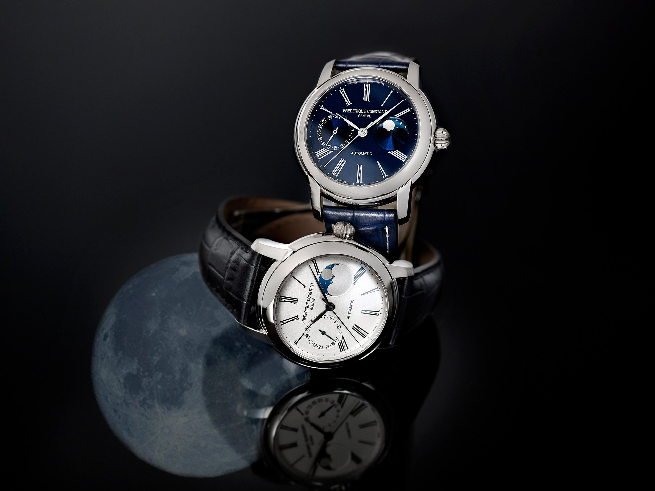Best Moonphase watch under 5000 - FREDRIQUE CONSTANT CLASSIC MOONPHASE MANUFACTURE