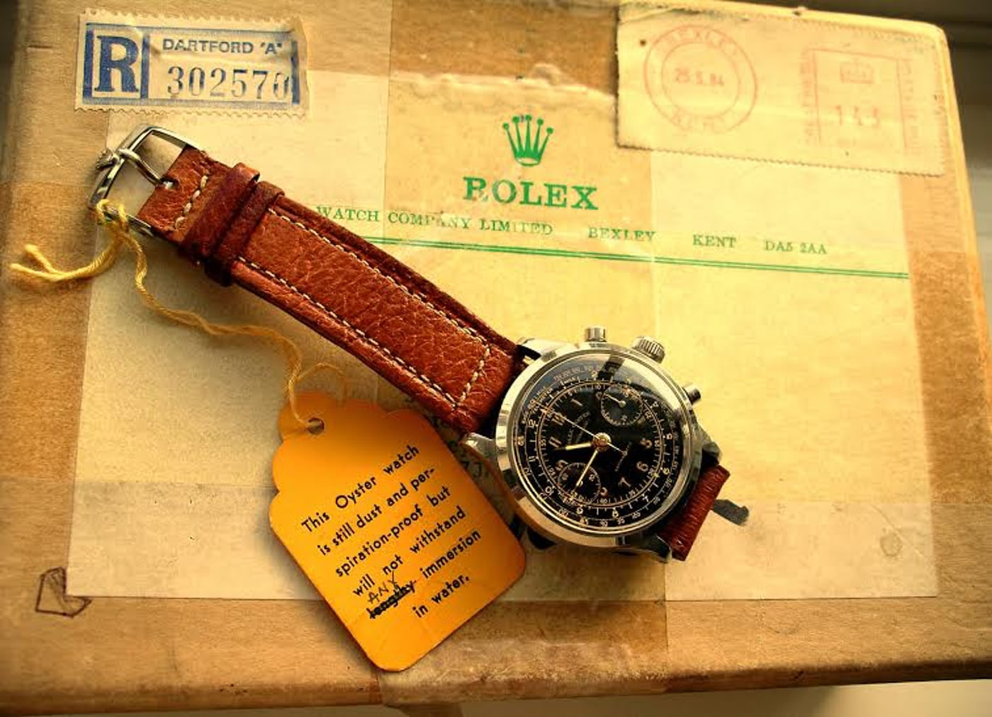WWII Rolex Chronograph | Wristwatches360