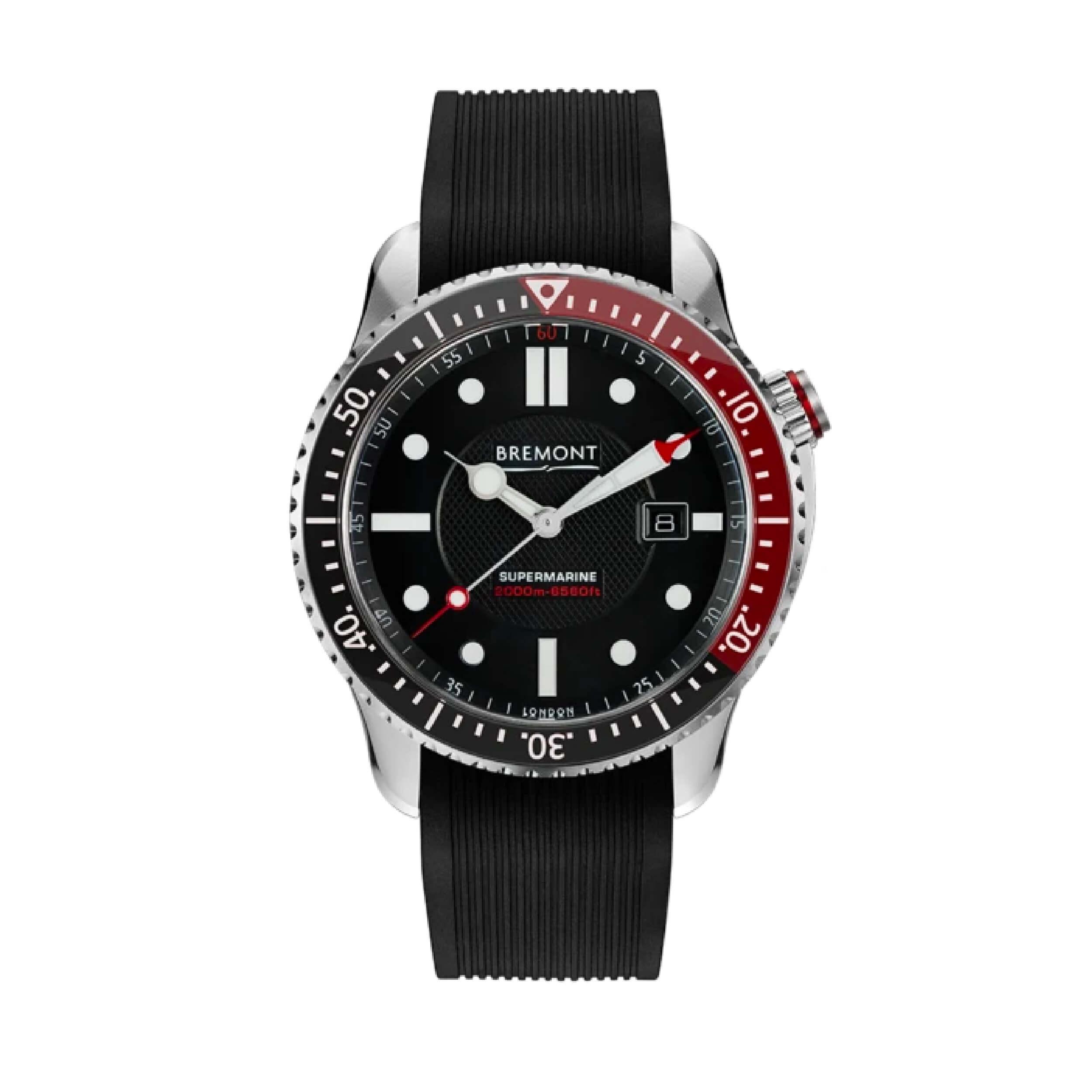 Bremont Supermarine s2000 Red | Wristwatches360
