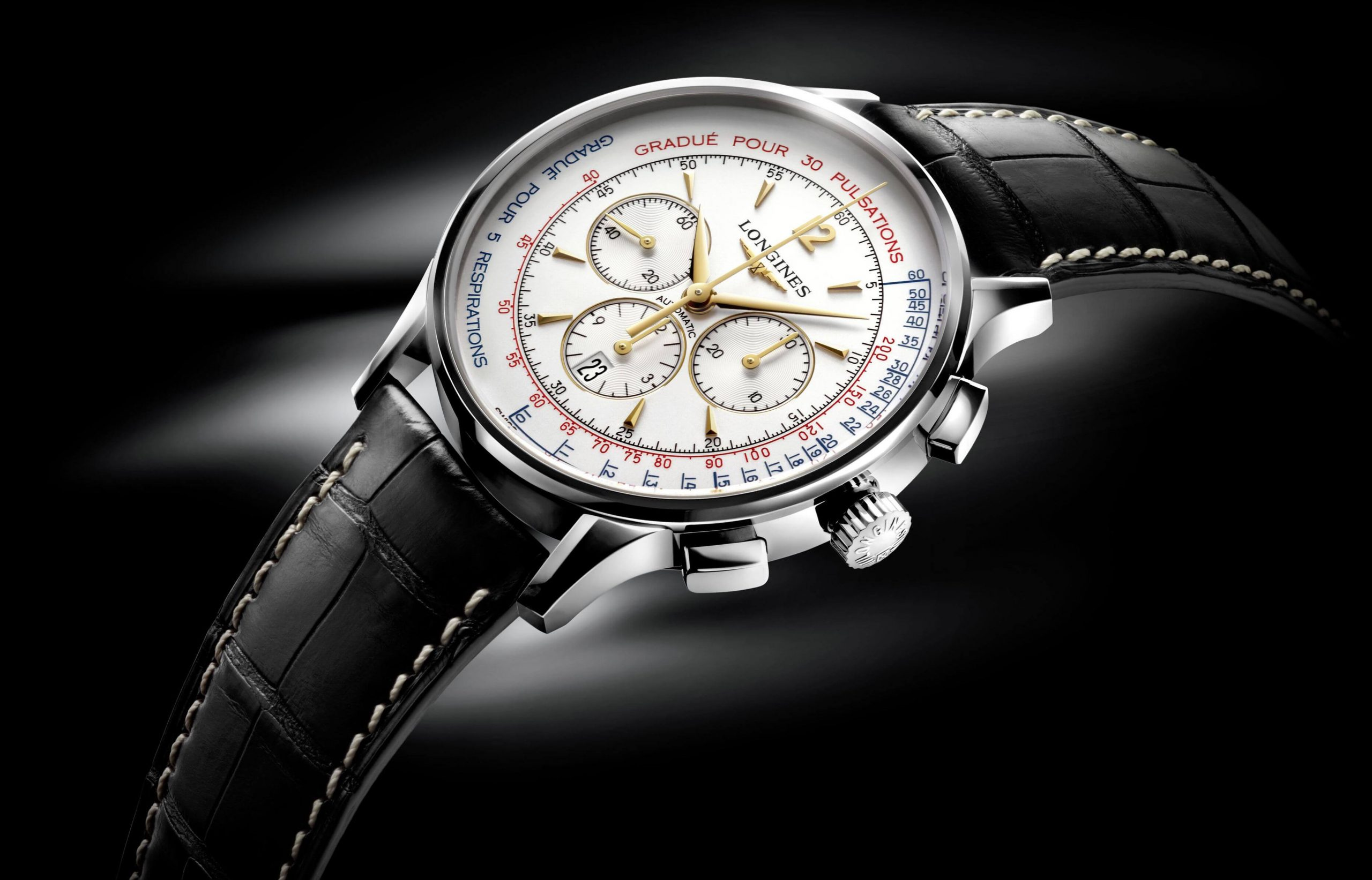 Longines Asthmometer-Pulsometer Chronograph | Wristwatches360
