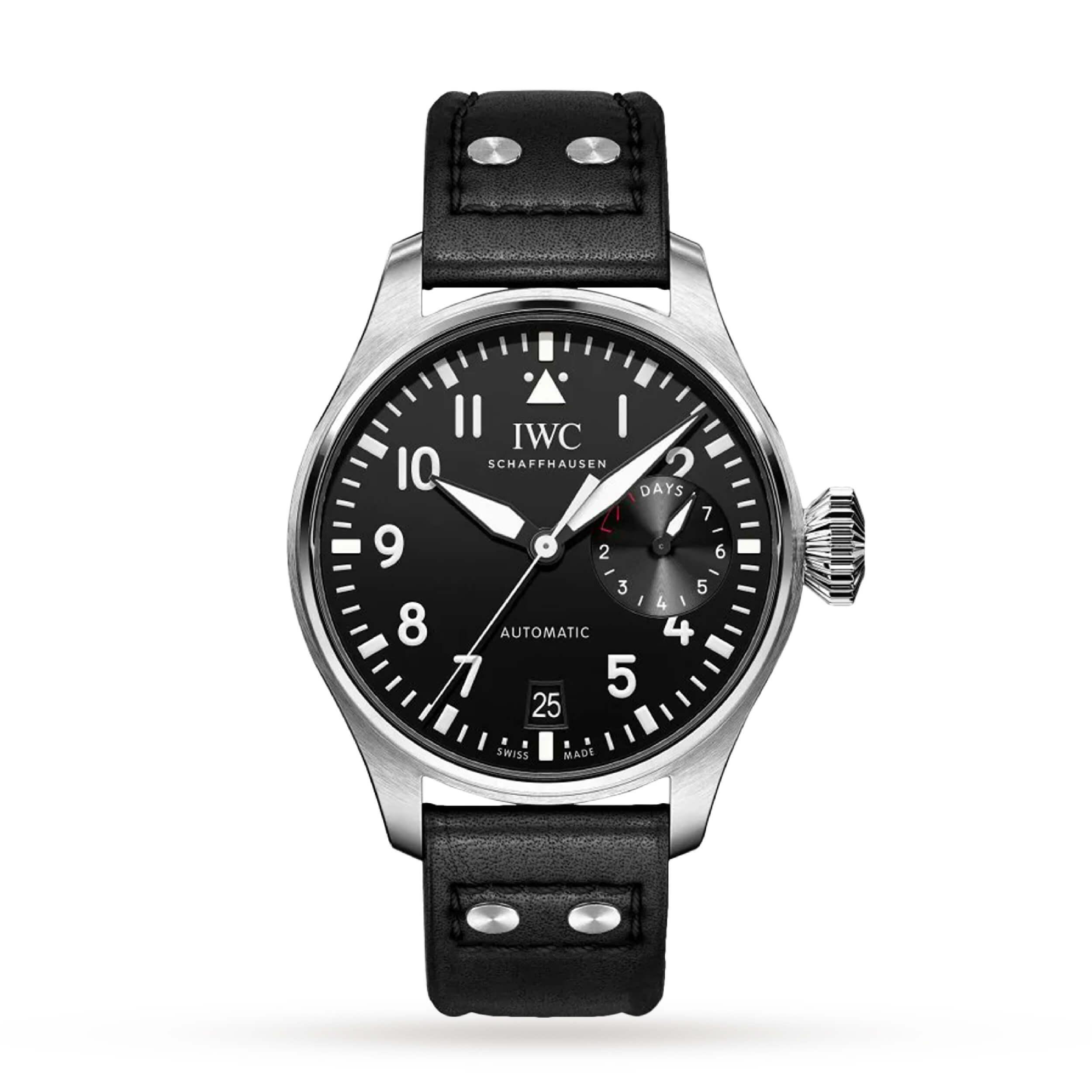 IWC Big Pilot's Watch | 5 Iconic Luxury Pilot Watches