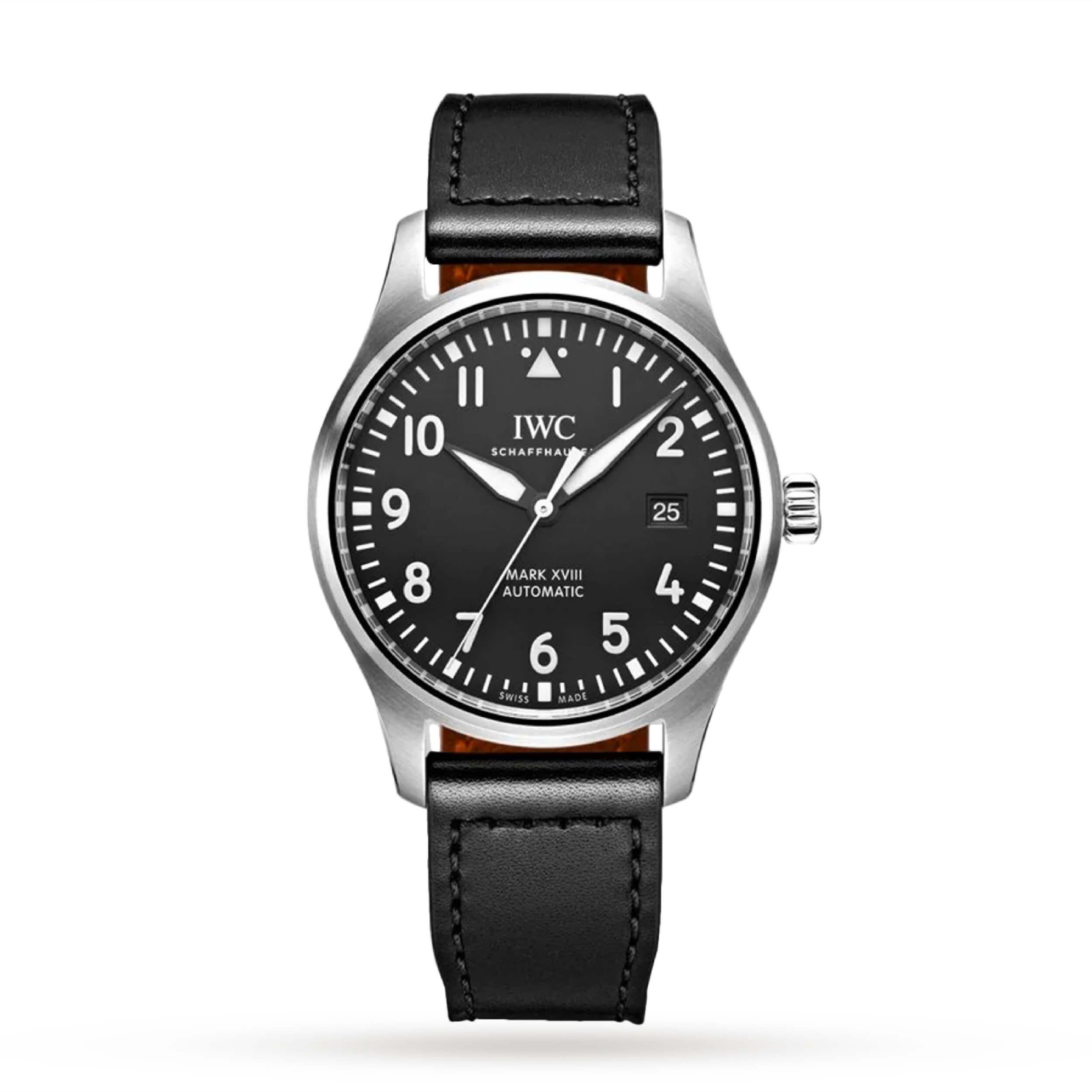 IWC Pilot's Mark XVIII | 5 Iconic Luxury Pilot Watches