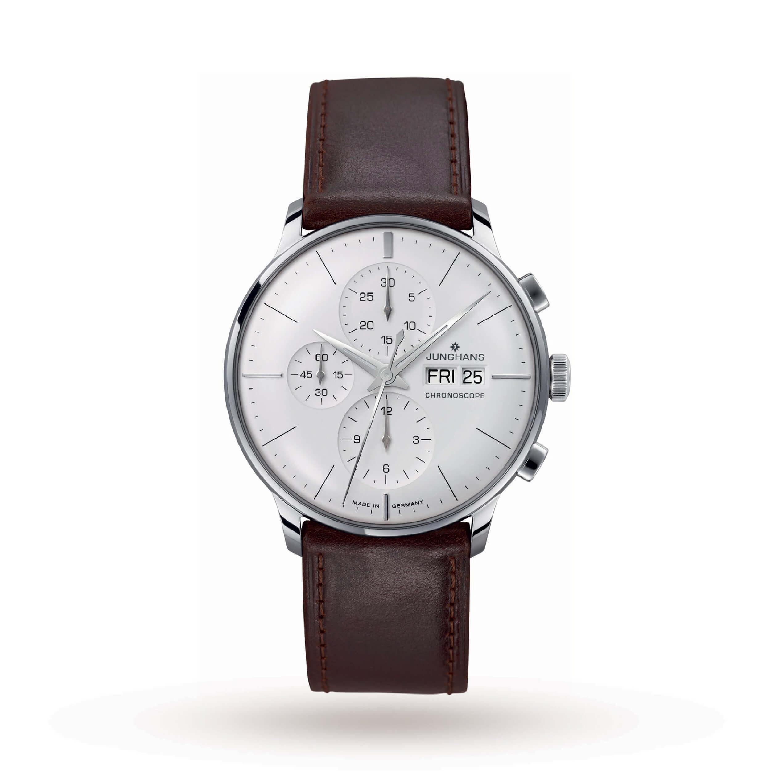 Junghans Unisex Meister Chronoscope Automatic Chronograph | Best Chronograph Watches Under 2000