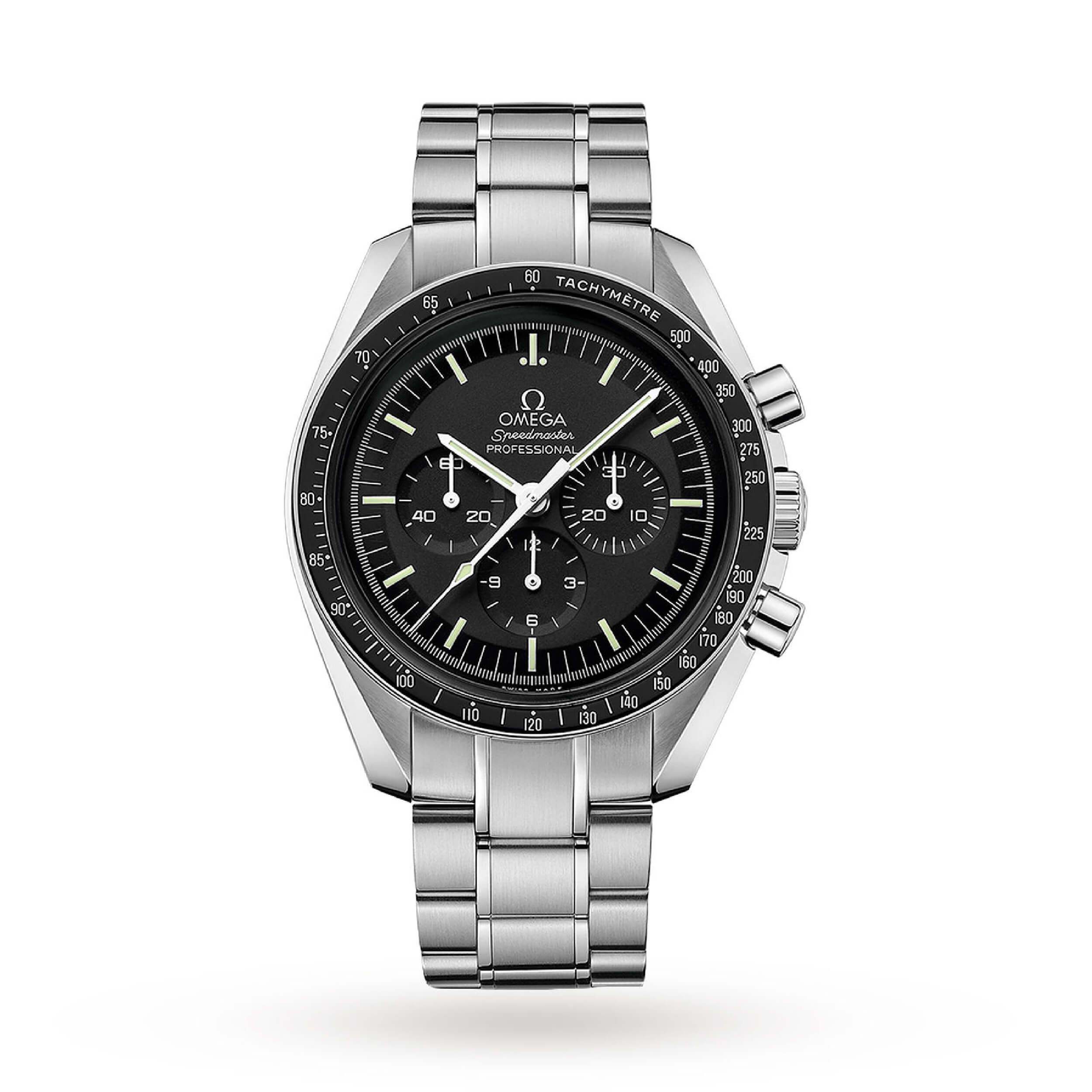 Omega Speedmaster Moonwatch Professional | Best Luxury Chronograph Watches 2021
