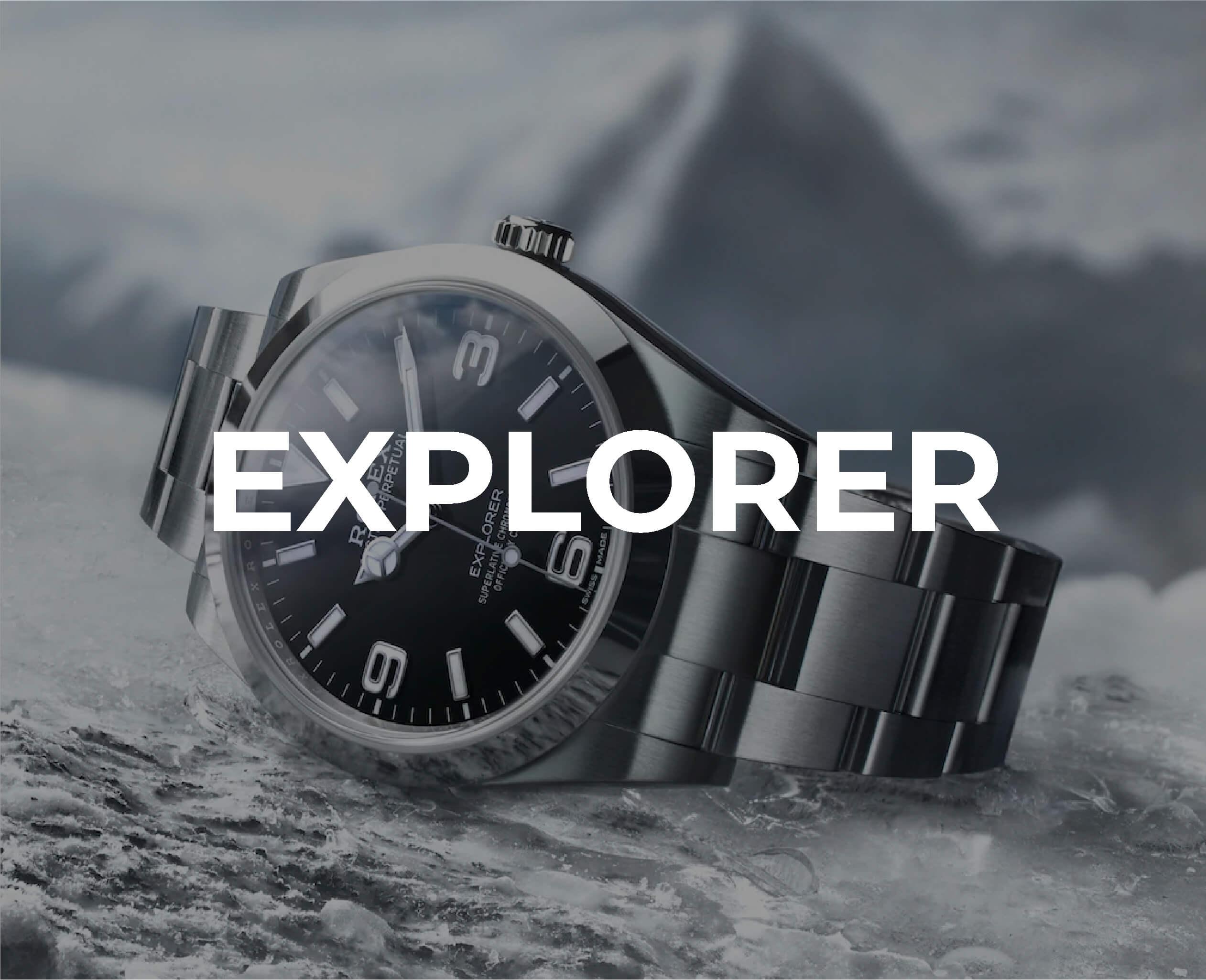 Rolex Explorer Collection