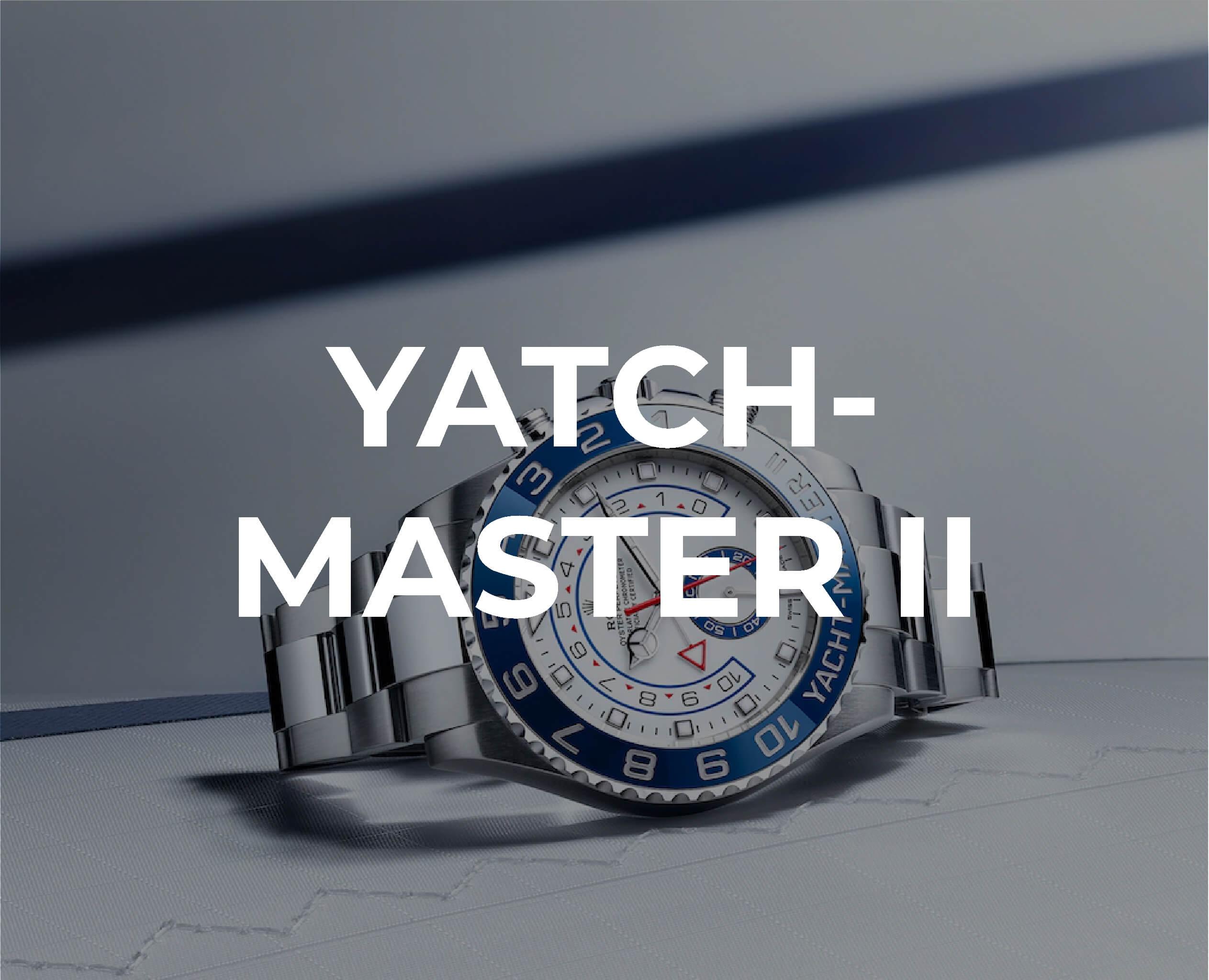 Rolex Yatch-Master II Collection