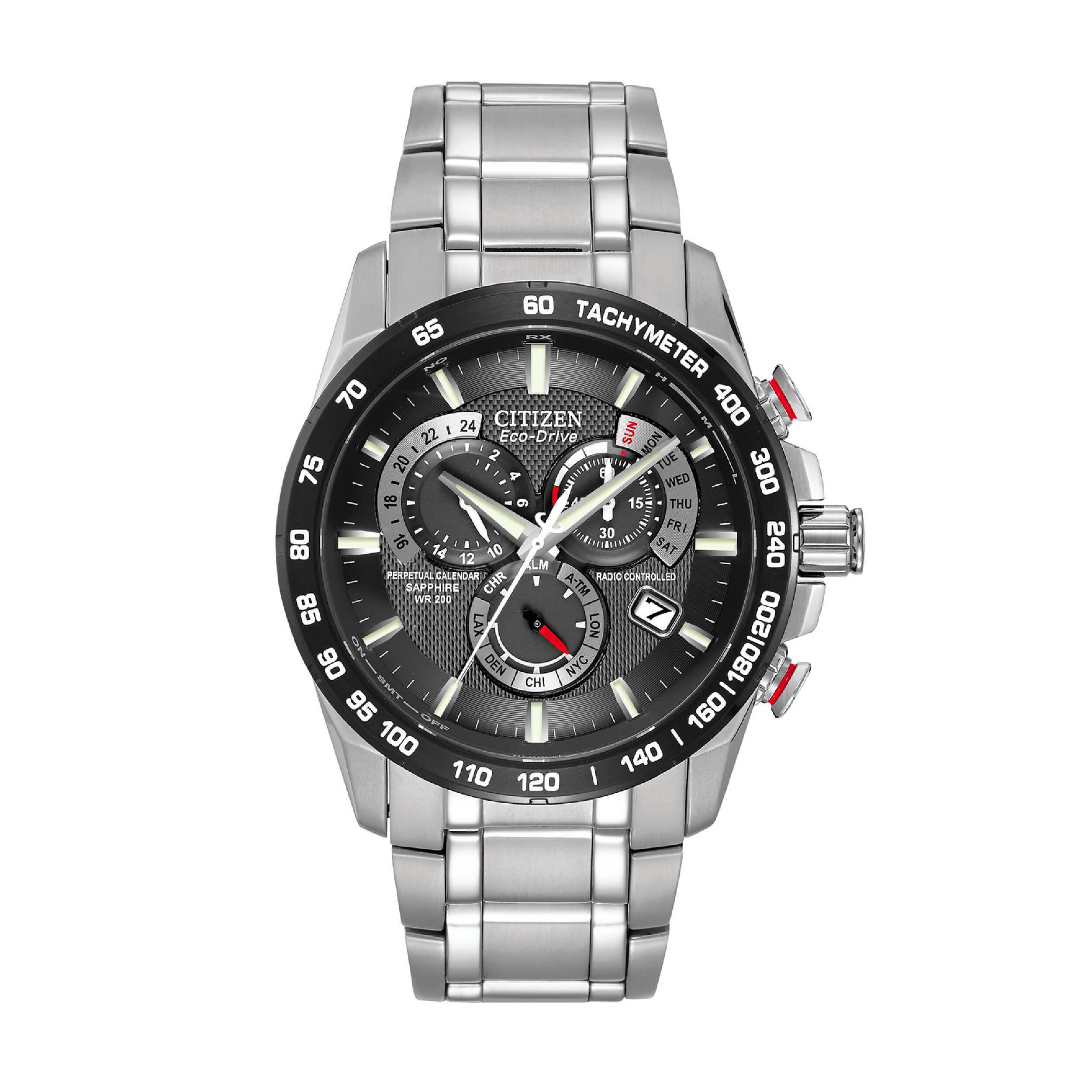 Citizen eco-drive Perpetual Chronograph | Best Chronograph Watch Under £500